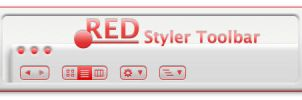 .RED II Styler Toolbar by MPAMPoULAs