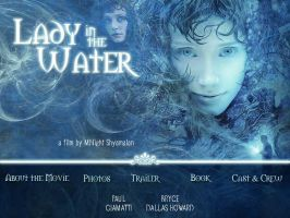 Lady in the Water Web Site by frchblndy
