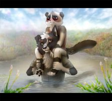 Afraid of water by Zhiibe