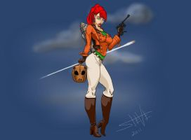 rocketeer girl by theonlysman