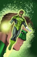 Green Lantern by JeffieB