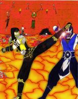 MKD Scorpion vs Sub-Zero v2 by Grace-Zed