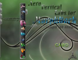 AeroVertical skin f. MorphDock by spider4webdesign
