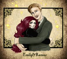 Emily+Remus-Best friends by RedPassion
