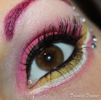 Sailor Chibi Moon inspired Make Up by Talasia85