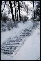 Stairs to the Frozen Heaven by Nightbless