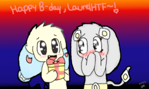 Happy B-Day LaurelHTF! by Starinq