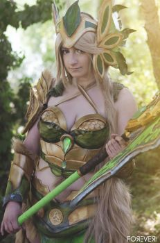 Leafon Valkyrie by AckuaCosplay