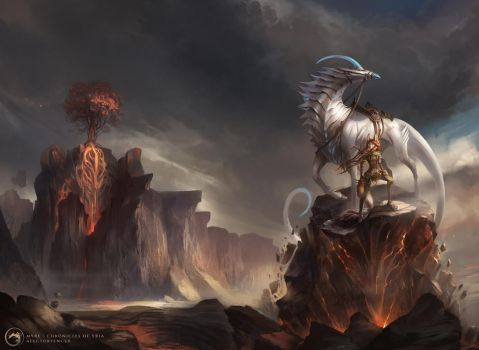Myre - Chronicles of Yria Cover Full by AlectorFencer