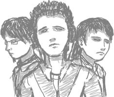 Sketch - 3 faces by Elfray