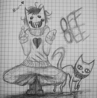 Zacharie and The Judge - OFF by Veevee-Girl