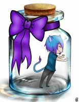 Riley in a Bottle by KayMarie94