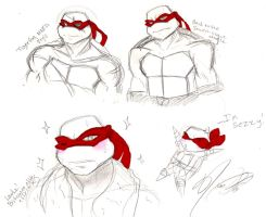 Raphael Sketches by nichan