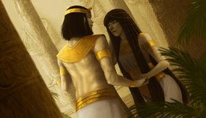 White Egyptians by AlaisL