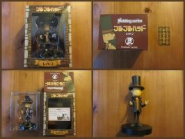 Professor Layton Bobble Head by BenjaminHunter