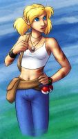 Some Pokemanz Trainer Girl by evion