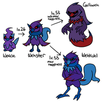 Some Fakemon by limecakey