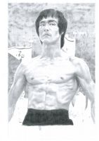 Bruce Lee by CGHow