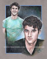 Darren Criss by scotty309