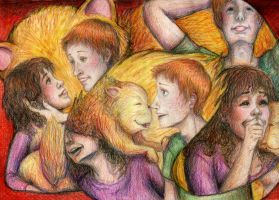 23. Cat- Hermione's Gingers by commoner-pocky