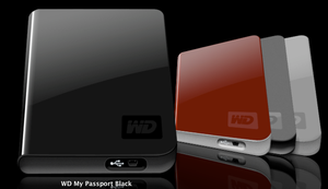 WD My Passport Essentials Icon by idumbi