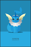 Vaporeon : CXXXIV by WEAPONIX