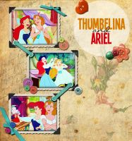 Thumbelina and Ariel by gating