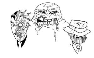 faces of evil by anjinanhut