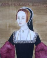 Full-length Anne Boleyn by selenitylune