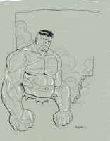 The Incredible Hulk by NJValente