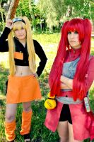 Naruko and Gaara SNJ - That is my ninja way by ALIS-KAI