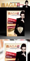 Multipurpose Magazine Cover Template by retinathemes