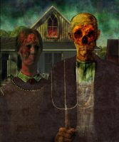 American Gothic- revisited by genovese