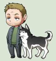SPN Dogs #07 by NessaSan