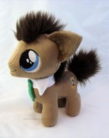 Doctor Whooves colt by PlanetPlush