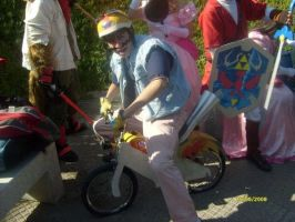 Wario-bike by Sabaku-no-Wario