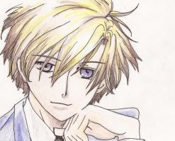 Tamaki- Ouran High School Host Club by topistops