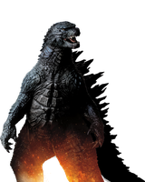 Godzilla 2014: The King himself!!! by sonichedgehog2