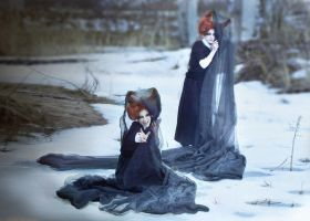 Demon Twins: In the Snow by PepperStark