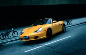 Yellow in Motion by Subsonicboom