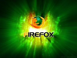 Firefox Wallpaper, Matrix by serdarguler