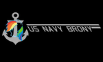 EFNW T-Shirt Front:US Navy Brony by SF-Sonar