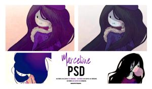 Marceline - PSD #06 by AhomeToons