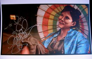 Jewel Staite - Kaylee - Signed by jeminabox