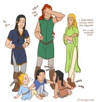 LotR/S: what brats by Houkakyou