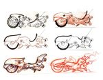 bikes by ZurdoM