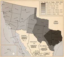 Territorial Evolution of Texas by DaFreak47