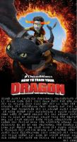 How to Train Your Dragon Troll Poster by Angie-Andrea