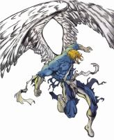 Warren Worthington III by valraven