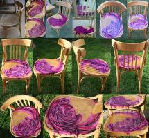 Melting Rose Chair by Michelle-Kowalczyk